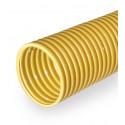 Yellow drainage pipe DN 80
