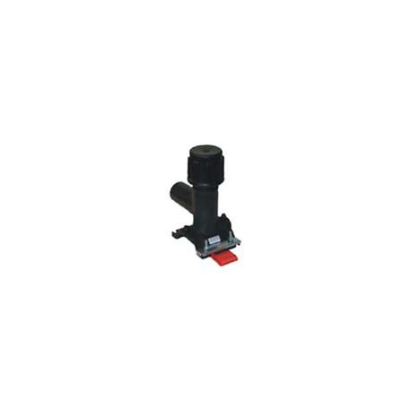 Trójnik siodłowy PE/elektrooporowy z nawiertką