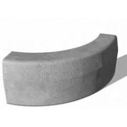 Hochbord-Kurvenstein 15x30 cm R-5, BerdingBeton