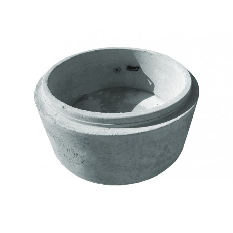 Krąg betonowy  1000/500 z dnem b/o na zaprawę lub pianę