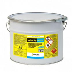 Weber.dry PUR coat 5 kg Jasnoszary, poliuretanowa warstwa nawierzchniowa