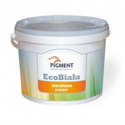 Farba PIGMENT ECO 10L sufitowa akrylowa biała