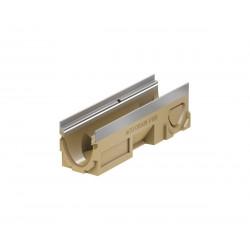 Kanał D400 V100 50 cm ACO Multiline bez rusztu, H-15 cm