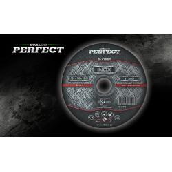 Tarcza metal INOX 115x1 mm S-71683 PERFECT