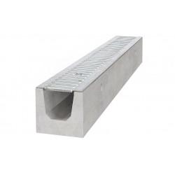 Kanał A15 TL130 100 cm BIELBET betonowy z rusztem ocynkowanym