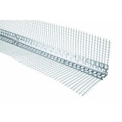 Alu angle beads with mesh 2,5 m