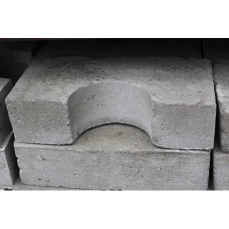 Beton Halbauflagering für Hydrant 10 cm
