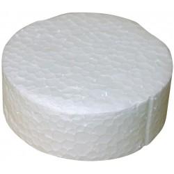 Polystyrene Plug 63,5 mm - 250 pcs.