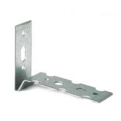 Łącznik do murów D1, L 50x73 mm 22x1,25 mm stal ocynkowana (100 szt.)