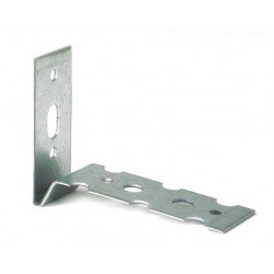Wall starter/connector galvanized D1, L 50x73 mm 22x1,25 mm