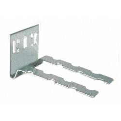 Wall starter/connector galvanized D2, L 40x88 mm 60x1,25 mm