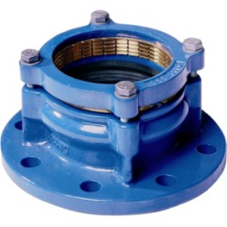 Rohrverbindungsstück MaxiDaptor RK-PE 250/250 PN10