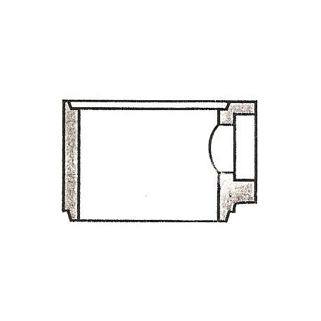 Element studni 3aKG/PCV 160 - h -35 cm