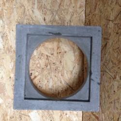 Schacht Entlastungplatte DN315 50/36/36 (Öffnung)