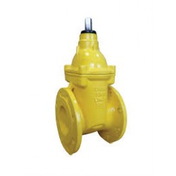 Gate valve for gas soft seated flanged F4
