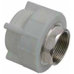 PP Female Coupling with key inlet
