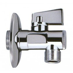 Ball valve for toilet flush (with filter)