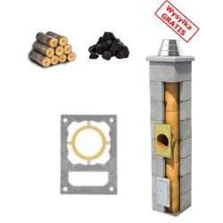 Schornstein Bausatz standard + Lüftung
