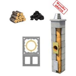 Chimney system standard + Double ventilation