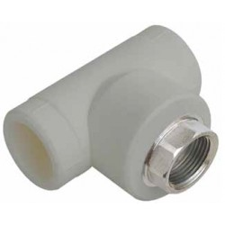 PP Female Tee with key inlet