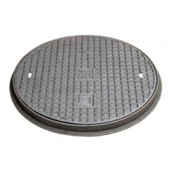 Gusseisenabdeckplatte A15, 400 mm