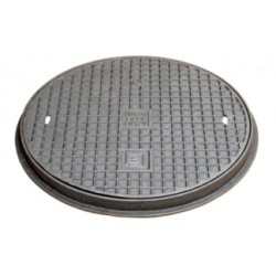 Cast iron manhole cover A15, 500 mm