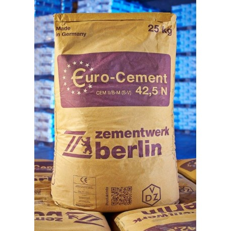 Zement CEM II 42,5N B/S 25kg Sack