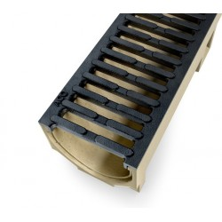 ACO SELF Euroline Channel with Cast Iron Grating 0,5 m