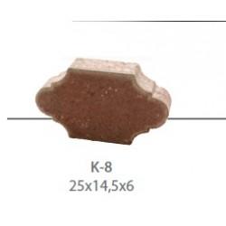 Kostka brukowa KAMAL K-8 gr. 6 cm