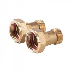 Water Meter Coupling 15 - 2 pcs.