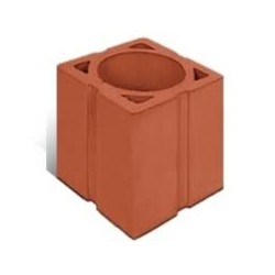Round chimney brick 188x188x240