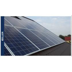 Solaranlage 24-Platten 260Wp, 6,24 KWP