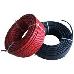 Solar panel cable 1x6mm / 50 m (inc. MC4 connector)
