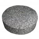 Polystyrene Plug 63,5 mm black - 250 pcs.