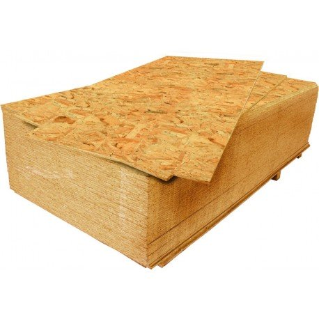 OSB - Oriented Strand Board 15x2500x1250 mm