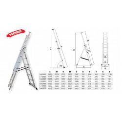Industrial ladder 150kg