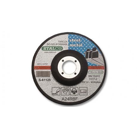Grinding disc for metal Ø12,5 cm