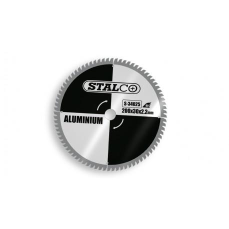 Piła tarczowa do aluminium Ø20x3 cm - 80 zębów