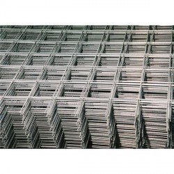 Welded Mesh Reinforcement Mats 2x1 m, 100x100x2,5 mm