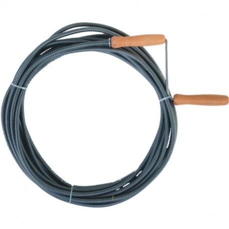 Spirala do udrażniania kanalizacji śr. 8 mm dł. 5 m