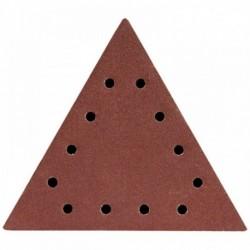 Dysk polerski trójkątny 60, z otworami, 5 szt.