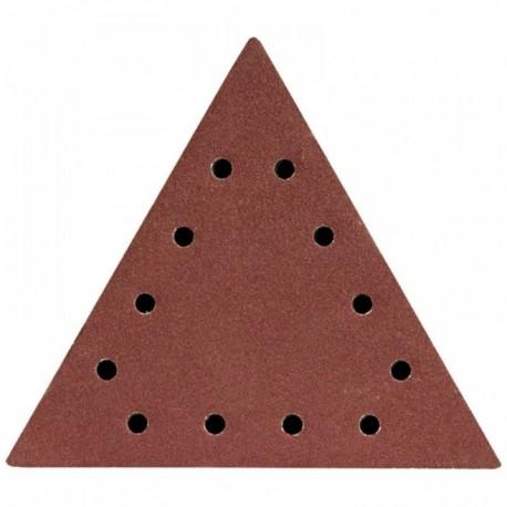 Dysk polerski trójkątny 80 z otworami