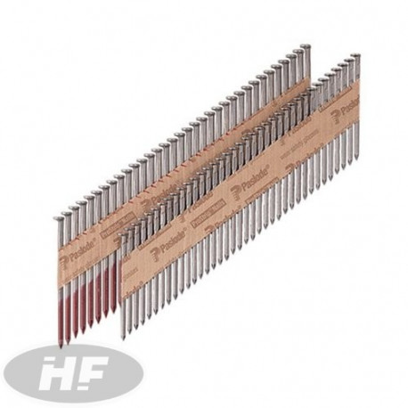 NFP nails 3,1x90 mm smooth + 2 gases