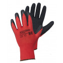 Latex-coated polyester gloves S-Latex R