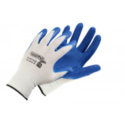 Latex-coated polyester cotton gloves S-Latex B