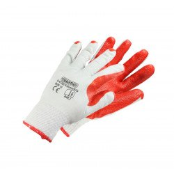 Latex-coated cotton gloves S-HeavyGrip