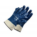 Nitrile-coated cotton gloves S-Heavy N