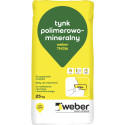 Polymer-mineralischer Edelputz WEBER TM314 Baranek 2 mm, 25 kg