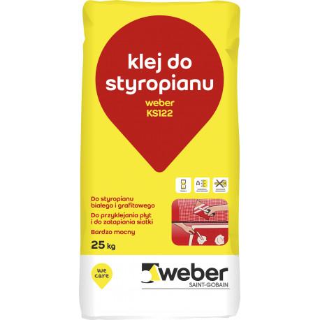 Polystyrene & Mesh Adhesive Weber KS 122, 25 kg