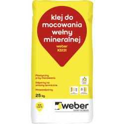 Klej do wełny Weber KS 131, 25 kg
